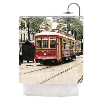 "Sylvia Cook ""Canal Street Car"" Travel Urban Shower Curtain"