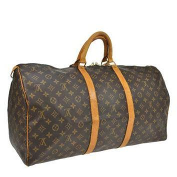 PEAPYD9 Reduced Authentic Vintage Louis Vuitton Keep All 55 Boston Keep All Duffle Bag Good Co