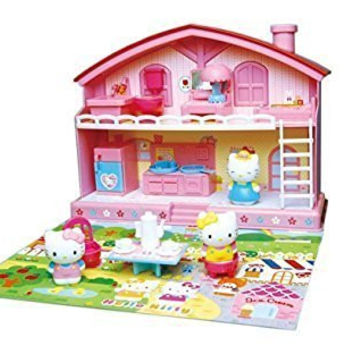 "Sanrio Japan Hello Kitty Play House Set "" Good Friend House """