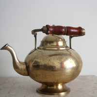 Vintage India Brass Teapot/Kettle For the Home