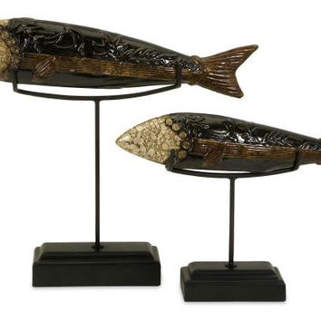 2 Decorative Fish - Wanbara Fish