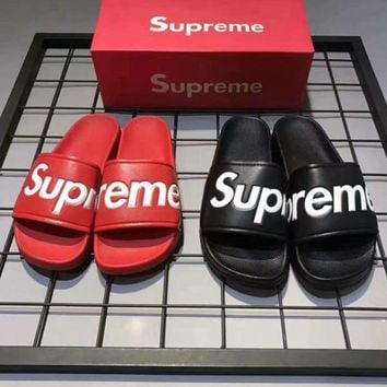 Supreme Women Fashion Print Sandal Slipper Shoes
