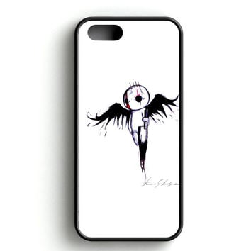 emo angel Art iPhone 4s iPhone 5s iPhone 5c iPhone SE iPhone 6|6s iPhone 6|6s Plus Case