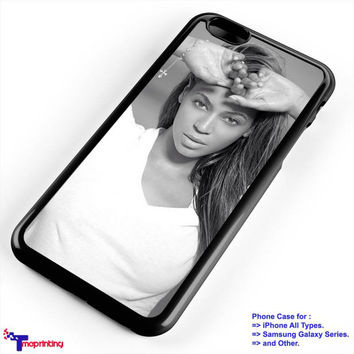 Beyonce Beauty - Personalized iPhone 7 Case, iPhone 6/6S Plus, 5 5S SE, 7S Plus, Samsung Galaxy S5 S6 S7 S8 Case, and Other