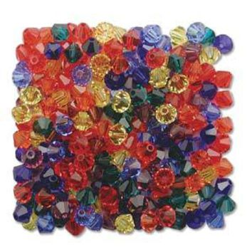 530104MIX16 - Swarovski 4mm Bicone Mix, Rainbow | Pkg 144