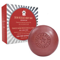 First Aid Beauty Skin Rescue Body Bar with Red Clay
