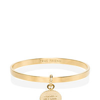 Kate Spade Say Yes Scalloped Partners In Crime Bangle Gold ONE