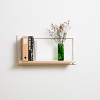 Fläpps Shelf 80x40x1 by AMBIVALENZ