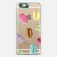 Macaron Shuffle (Transparent) iPhone 6 case by H. Nichols Illustration | Casetify