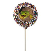 Vietnamese Black-Webbed Gliding Frog Chocolate Covered Oreo Pop
