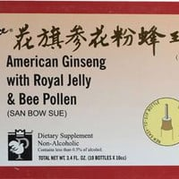 Prince Of Peace American Ginseng Extract - Ryl Jlly B Plln - 10 Cc - 10 Ct
