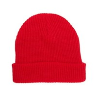 Ribbed Knit Beanie on Looklive
