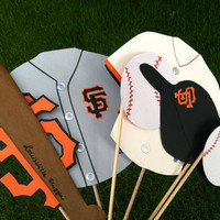 Photo booth props:  SAN FRANCISCO GIANTS..... ask about other teams....