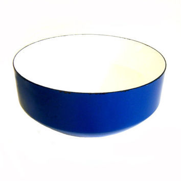 Copco Enamel Bowl Michael Lax Design Blue