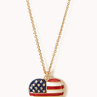 Star-Spangled Heart Necklace