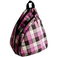 FASH Trendy Checks Plaid Cross Body Messenger Backpack -For Students,weekend Backpack,college Bag.:Amazon:Clothing