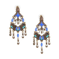 Multicolor Vintage Drop Earrings