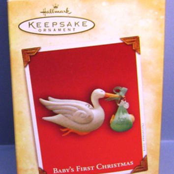 2004 Baby's First Christmas Hallmark Retired Ornament