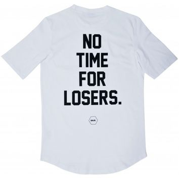 No Time For Losers Tee White - BALR.