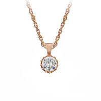 The Diamond Necklace in Rose Gold