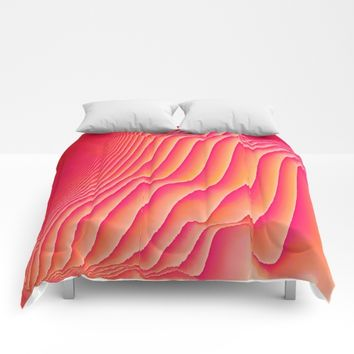 Sorbet Melt Comforters by DuckyB