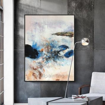 Original acrylic Painting Wall Art on canvas Abstract art painting  huge size minimalist Pictures for living room cuadros cuadros abstractos