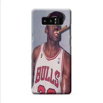 Michael Jordan Cigar Samsung Galaxy Note 8 case