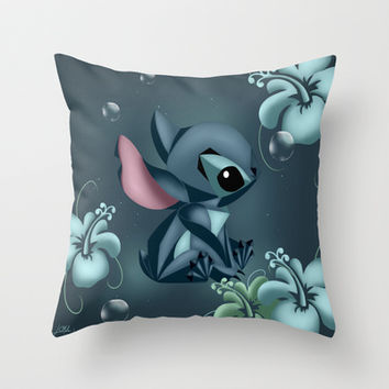 Stitch Origami  Throw Pillow by LouJah