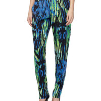 Printed Pants, Violet/Lum Shadow, Size: