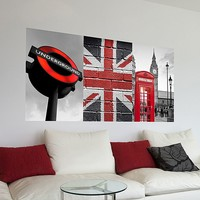 Home Decor Line London Panoramic Wall Decal