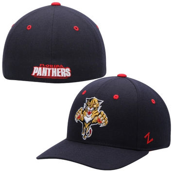 Florida Panthers Zephyr Crosscheck Fitted Hat – Navy Blue
