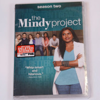 The Mindy Project: Season Two (DVD, 2014, 3-Disc Set) FACTORY SEALED NEW