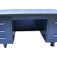 Industrial Steel Tanker Desk