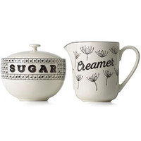 Around the Table Sugar & Creamer Set by Lenox