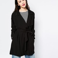 Monki Trench Coat