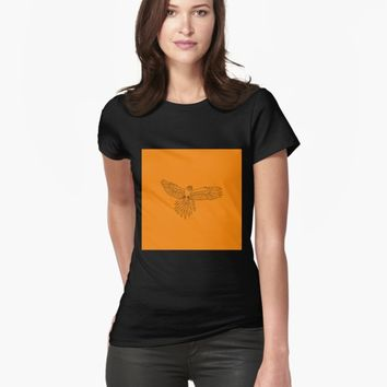 'Bird' T-shirt by VibrantVibe