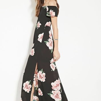 Contemporary Floral Maxi Dress | LOVE21 - 2000185357