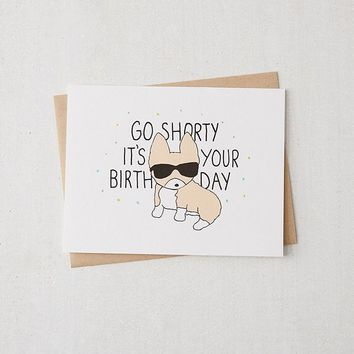 Tiffbits Go Corgi Birthday Card | Urban Outfitters