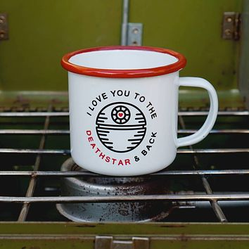 Love You to the Death Star and Back Mug-16oz