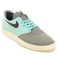 Cool Grey & Turquoise Skate Shoes