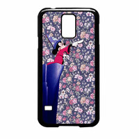 Mickey Mouse The Wizard Floral Vintage Samsung Galaxy S5 Case
