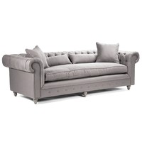 Zentique Furniture Jorden Grey Sofa