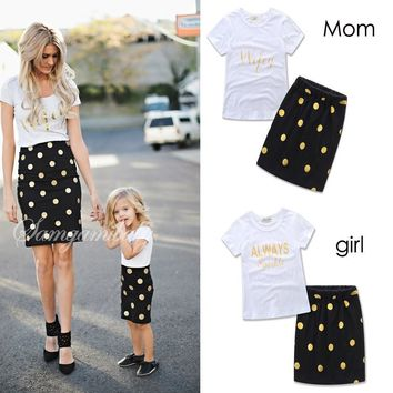 Hot Sale Dresses For Mothers And Daughters