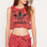 Adidas Dear Baes Crop Tank Top - Urban Outfitters