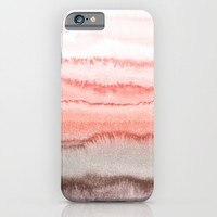 WITHIN THE TIDES CORAL DAWN iPhone & iPod Case by Monika Strigel