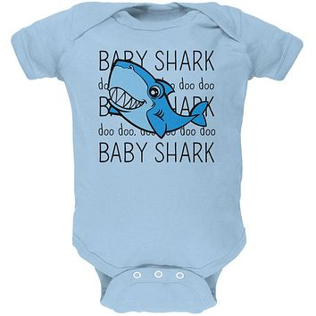 Baby Shark Cute Silly Soft Baby One Piece