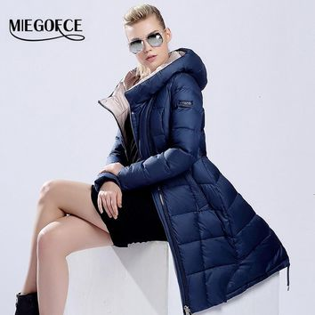 womens winter down jackets and coats women High Quality Warm Female thickening Warm Parka Hood Over Coat