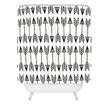 Holli Zollinger Arrows Shower Curtain