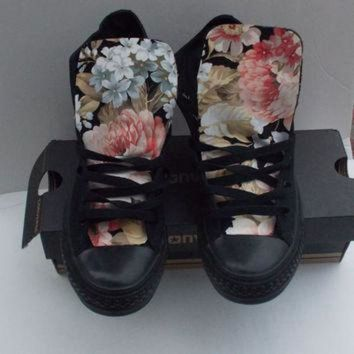 DCCK1IN floral converse shoes  5