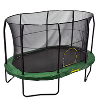 Bazoongi Jumpking Large Trampoline - Green